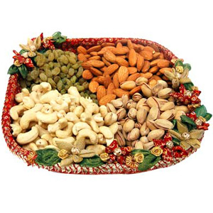 Assorted Dry Fruits Tray