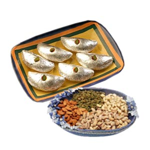 Dry Fruits and Gujia