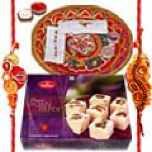 Rakhi Thali with Sweets