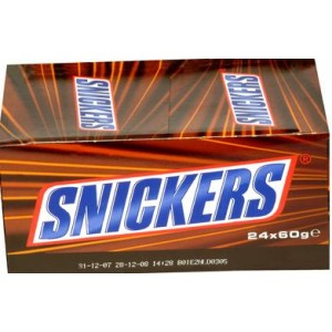 24 Pcs Snickers( Veg also Pls mention while ordering)
