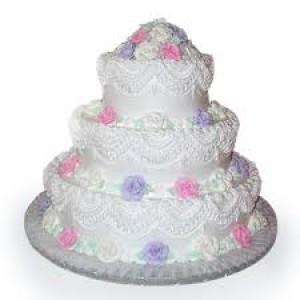 Vanilla Cake 3 Tier